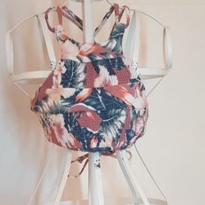 Tori Praver Seafoam Swimwear Top  Sz XS NWOT♡